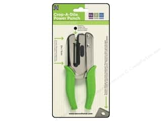 Gifts $0 - $2: We R Memory Crop-A-Dile Power Punch 1/4""