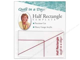 Quilt In A Day Rulers Template Half Rectangle