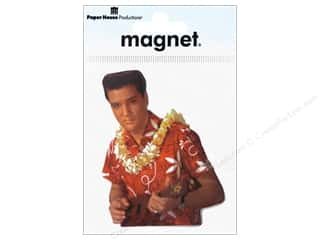 Magnets Paper House Magnet: Paper House Magnet Elvis Blue Hawaii