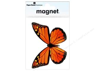 Paper House Magnet Monarch Butterfly