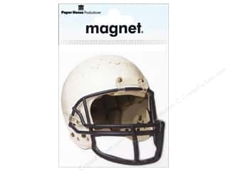 Sports Craft & Hobbies: Paper House Magnet Football Helmet