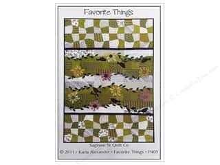 Favorite Things Clearance Patterns: Saginaw Street Quilt Company Favorite Things Pattern