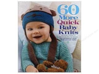 knitting books: 60 More Quick Baby Knits Book