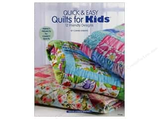 Quick &amp; Easy Quilts For Kids Book