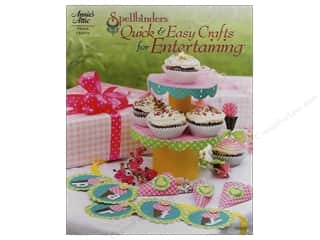 Clearance Red Heart Light & Lofty Yarn: Spellbinders Quick & Easy Crafts for Entertain Book