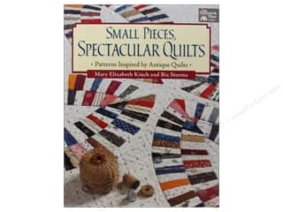 Small Pieces Spectacular Quilts Book