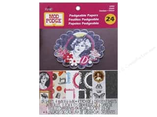 Weekly Specials Graphic 45 Paper Pad: Plaid Mod Podge Podgeable Papers Pad Classic