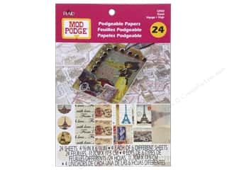 Plaid $5 - $7: Plaid Mod Podge Podgeable Papers Pad Travel