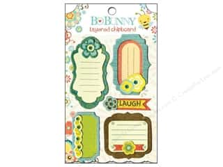 Bo Bunny Chipboard Shapes: Bo Bunny Chipboard Stickers Layered Hello Sunshine