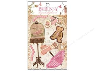 Bo Bunny Sticker Chipboard Layered Little Miss