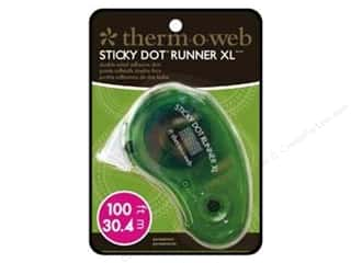 Therm O Web Tape Runner Sticky Dot XL Perm 100ft
