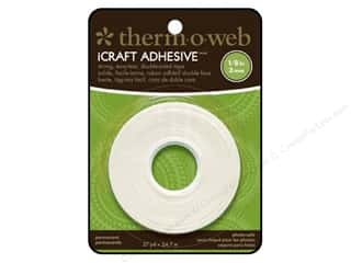 "Therm O Web Width: Therm O Web iCraft Tape 1/8"" Double Side 27yd Roll"