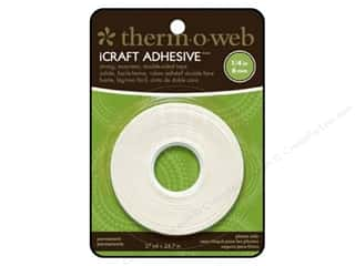 "Therm O Web iCraft Tape .25"" Double Side 27yd Roll"
