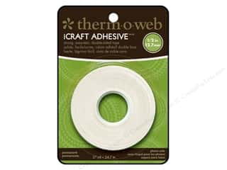 "Therm O Web $4 - $5: Therm O Web iCraft Tape .5"" Double Side 27yd Roll"