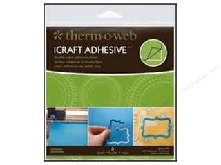Glue and Adhesives $4 - $5: Therm O Web iCraft Easy Cut Adhesive Sheets 5 3/4 in. 5 pc.
