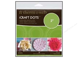 Therm O Web Sheets: Therm O Web iCraft Adhesive Dots 2 in. 16 pc. (4 packages)