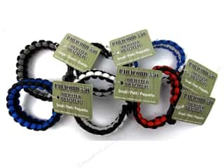 Pepperell Braiding Co: Pepperell Parachute Cord Bracelet Men's Assorted