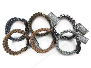 Pepperell Parachute Cord Accessories Bracelet Camo Assorted