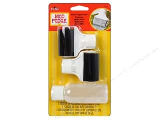 Plaid Mod Podge Roller Applicator with 2oz Bottle