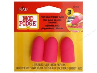 Hot Art, School & Office: Plaid Mod Podge Tools Hot Glue Finger Caps 3pc