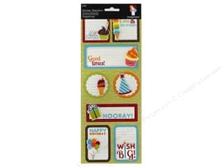 Rhinestones Birthdays: Imaginisce Stickers Hello Cupcake Stacker Surprise