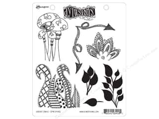 Ranger Dylusions Stamp Rubber Doodle Parts
