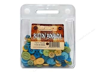 Buttons Galore Button Bonanza 1/2 lb. Farm House