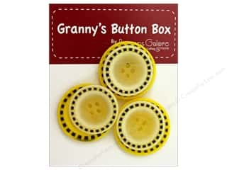 Buttons Galore Grannys Button Stitch Lemon