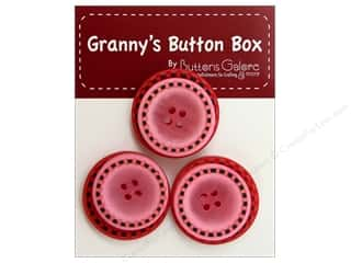 Buttons Galore Grannys Button Stitch Cherry