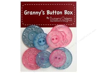 Buttons Galore Grannys Button Glitter Baby Soft