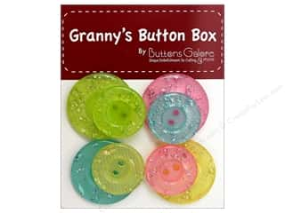 Buttons Galore Grannys Button Glitter Soft & Sweet