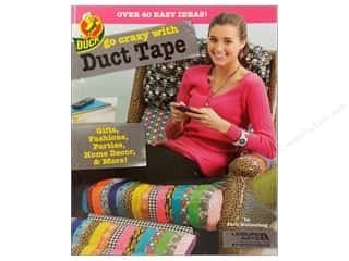 Leisure Arts Gifts: Leisure Arts Go Crazy With Duct Tape Book