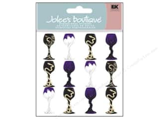 Halloween inches: Jolee's Boutique Stickers Halloween Goblets