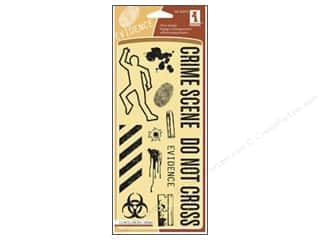 Inkadinkado InkadinkaClings Clear Stamp Crime Scene