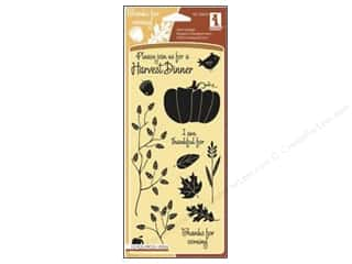 Inkadinkado InkadinkaClings Clear Stamp Harvest Dinner