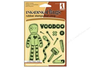 Inkadinkado Stamp Inkadinkaclings Voodoo Doll