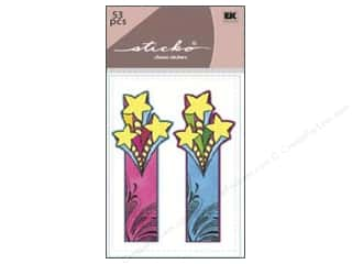 Adhesive Tabs Tags: EK Sticko Sticky Flags Shooting Star