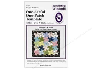 Quilting Templates / Sewing Templates: Marti Michell Template Tessellating Windmill