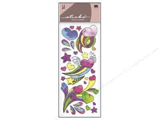 EK Sticko Sticker Functionality Girly Hearts