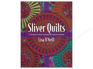 C&T Publishing Sliver Quilts Book by Lisa O'Neill