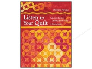 C&T Publishing Listen To Your Quilt Book