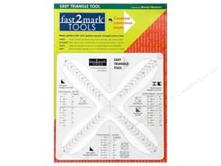 C&T Publishing Notions Fast2Mark Easy Triangle Tool