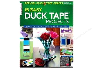 Chronicle Books $15 - $18: Design Originals 15 Easy Duck Tape Projects Book