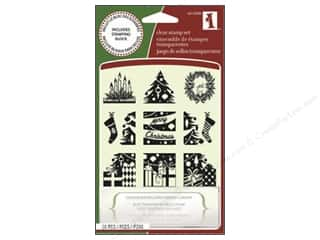 Inkadinkado Clear Stamp Inchies Christmas Morning