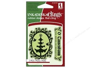 Inkadinkado Stamp Inkadinkaclings Mini Tree Cameo