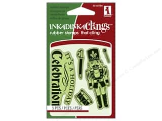 Inkadinkado Stamp Inkadinkaclings Mini Nutcracker