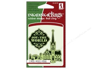 Inkadinkado Stamp Inkadinkaclings Mini Vill Church
