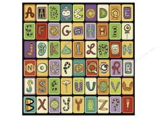 Clearance Blumenthal Favorite Findings: K&Co Paper 12x12 Spooky Candy Alphabet (25 piece)