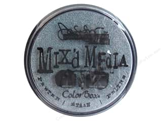 ColorBox Mix'd Media Inx Pad by Donna Salazar Pewter