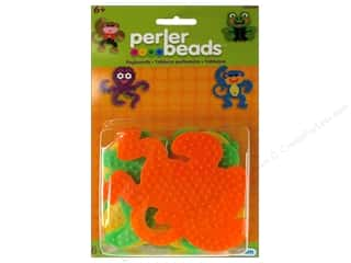 Funfusion Crafts with Kids: Perler Pegboard Set Small Animals 4 pc.